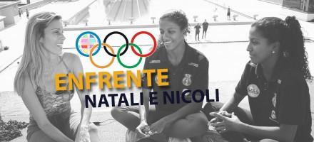 NATALI E NICOLI – ENFRENTE / Saltos Ornamentais